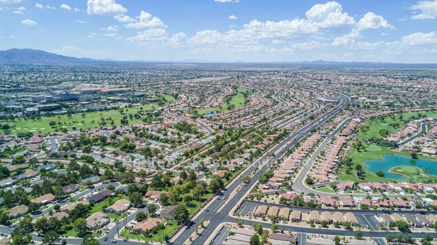 types of homes and costs in Sun City West
